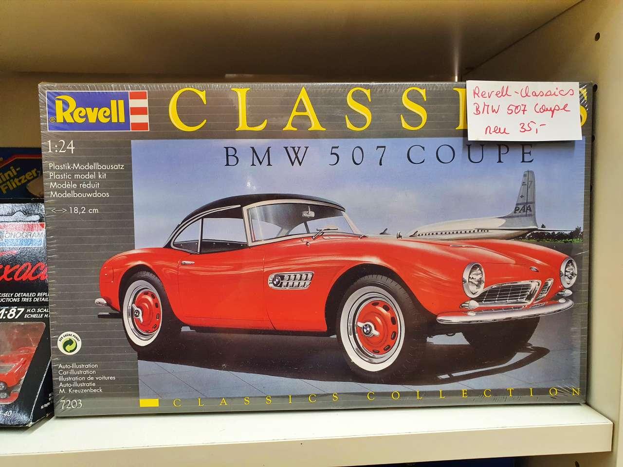 Sammlerstücke Revell-Classics BMW 507 Coupe