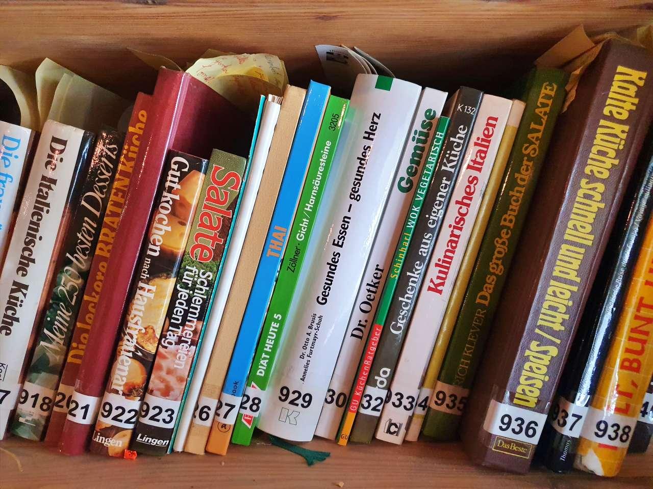 Grosse Sammlung / Konvolut an Kochbüchern 08