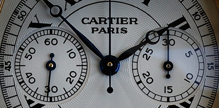 Cartier's Mono Poussoir Watches