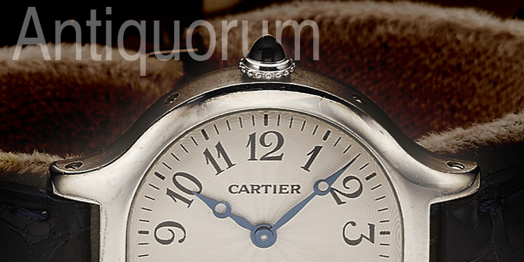 Unique Cloche de Cartier @ Antiquorum Auction, Geneva March 15th.