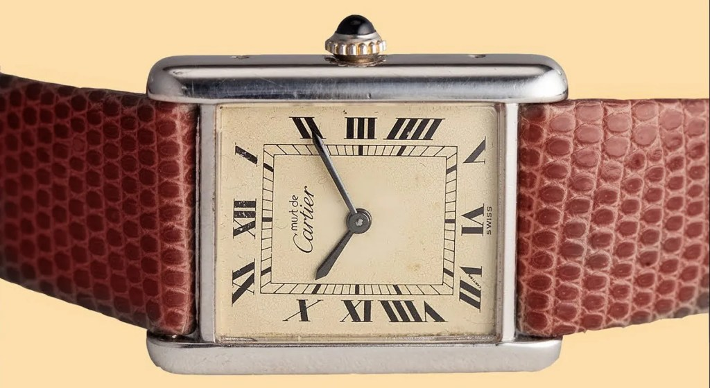 Creation Of A Cult Object; the 'Must de Cartier Tank'!