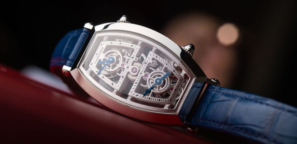 Cartier Privé Tonneau Skeleton Dual Time: The Ultimate Time-Traveller
