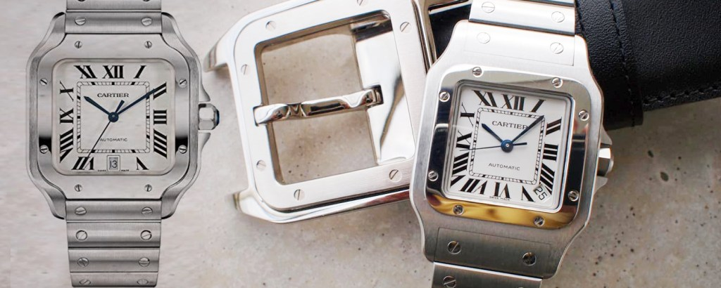 The Metamorphose of the 'Cartier Santos'