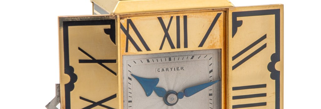 The Clocks Of Cartier At Antiquorum's November Auction