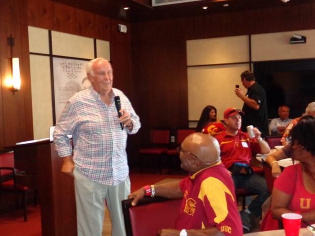 2016 Kickoff pre-party Coach Robinson