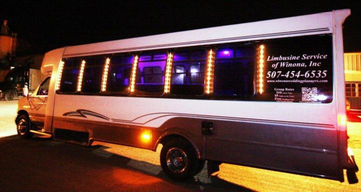 E450 Limousine Part Bus