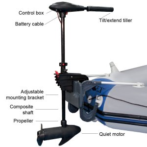 Intex Trolling Motor for Intex Inflatable Boat