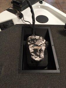 trolling motor foot control tray