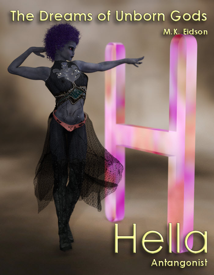 Hella - antagonist in The Dreams of Unborn Gods