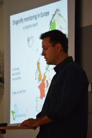 Tim Termaat föreläser.