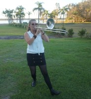 Trombone Kellie at Lake Cabarita 2