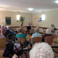 Kuwani Li and Trombone Kellie Opal Specialist Aged Care