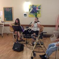 Trombone Kellie & Kuwani Li at the Opal Age Care