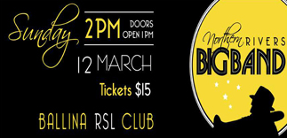 Northern Rivers Big Band at Ballina RSL on March 12 2017