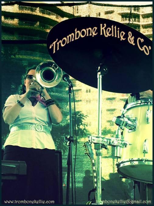 Trombone Kellie & Co. @ Cooly Rocks On