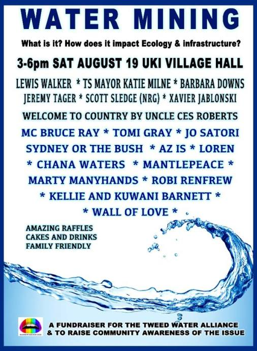 Fundraiser for 'Water Mining Awareness'