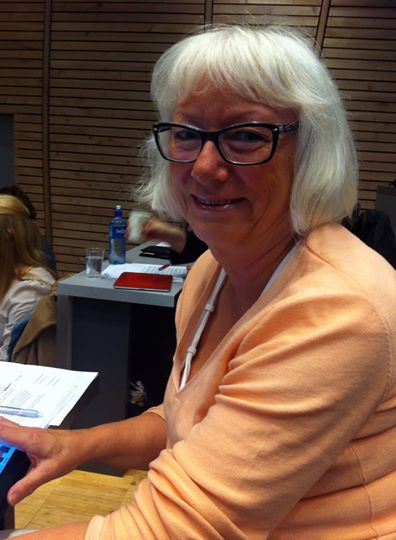 Gunhild Johansen i kommunestyret 28.mai