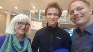 Bilde av Gunhild Johansen, Benjamin Notkevich og Pål Julius Skogholt