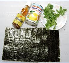 Rong biển là loại rau chứa hàm lương iot cao