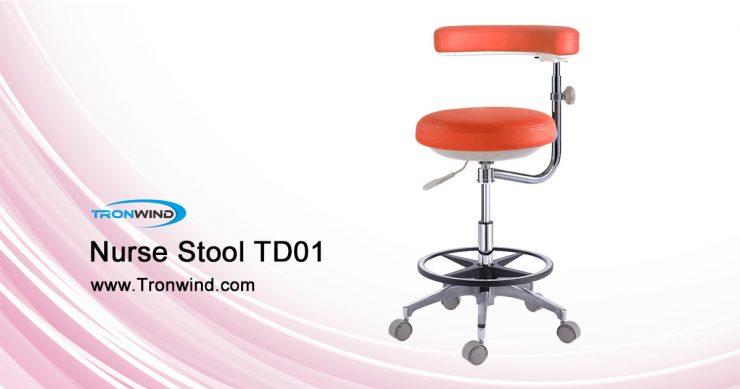 Tronwind dental assistant stool