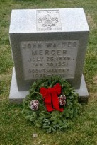 Grave of John W. Mercer