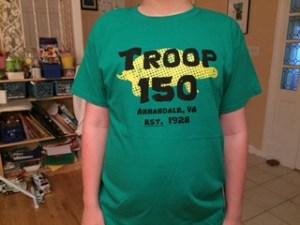 Troop 150 Class B Front