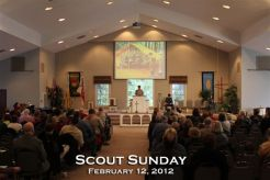 Scout Sunday Church