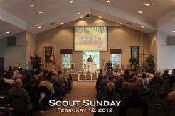 Scout Sunday Church