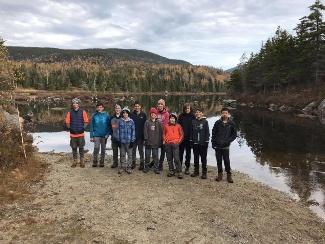 Flat Mountain Pond Shelter