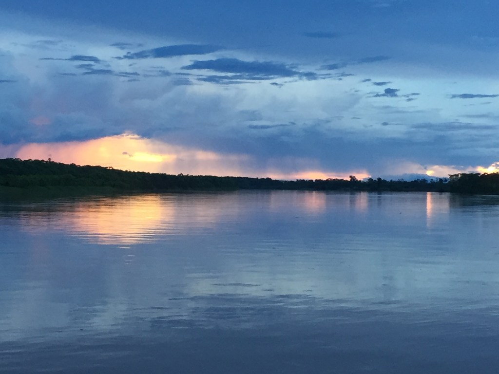 View of the Rio Aguaytia, Peru
