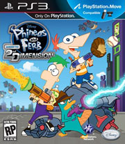 Phineas and Ferb Across the 2nd Dimension Trophy Guide