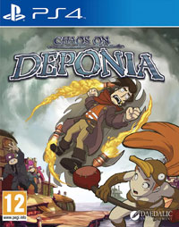 Chaos on Deponia Trophy Guide