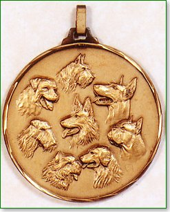 Dogs Head Medal