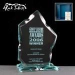 Blackwater Flame Rock Tablet Glass Awards Supplied In A Branded Box. Price Includes Engraving.
