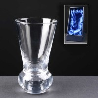 Balmoral Glass Engraved Firing Glasses In Presentation Box