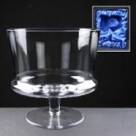 Balmoral Glass Engraved Straight Comport Supplied In A Satin Lined Presentation Box. Price Includes Engraving