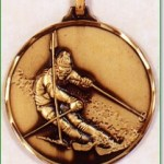 Skiing Medal