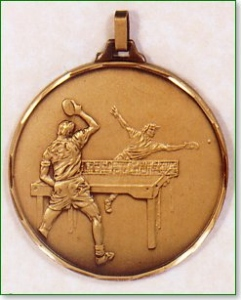 Table Tennis Medal