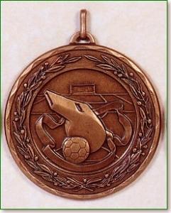 Football Referee Medal - 50mm