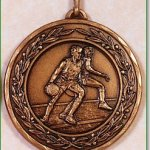50mm Basketball Medals