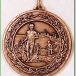 Cross Country Medal - 50mm
