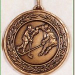 Ice Hockey Medal - 50mm
