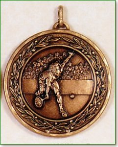 Male Tennis Medal - 50mm
