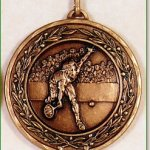 Male Tennis Medal – 50mm 1
