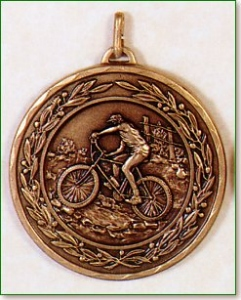 Mountain Bike Medal -50mm