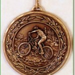 Mountain Bike Medal -50mm 1