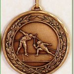 Fencing Medal - 50mm