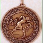 Male Athletics Medal - 50mm