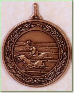 Male Swimming Medal - 50mm