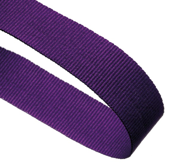 Purple Woven Medal Ribbons With Clip